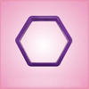 Purple Hexagon Cookie Cutter