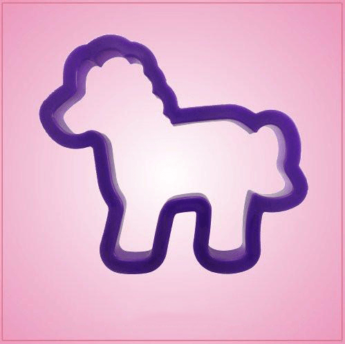 Purple Horse Cookie Cutter