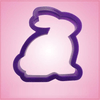Purple Rabbit Cookie Cutter