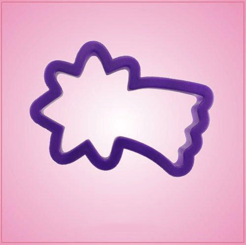 Purple Shooting Star Cookie Cutter