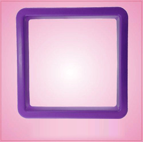 Purple Square Cookie Cutter