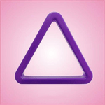 Purple Triangle Cookie Cutter