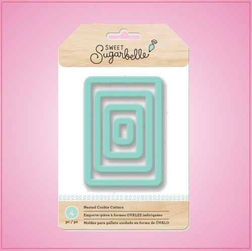Rectangle Nested Cookie Cutter Set