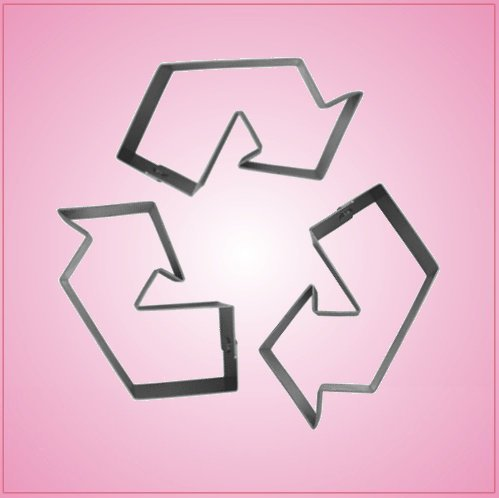Recycle Symbol Cookie Cutter