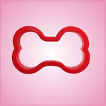 Red Dog Bone Cookie Cutter