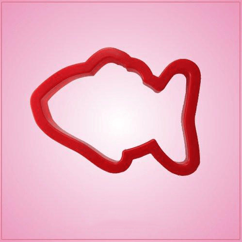 Red Fish Cookie Cutter