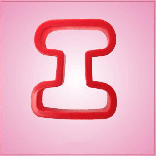 Red Letter I Cookie Cutter