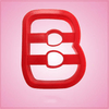 Red Letter B Cookie Cutter