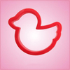 Red Rubber Ducky Cookie Cutter