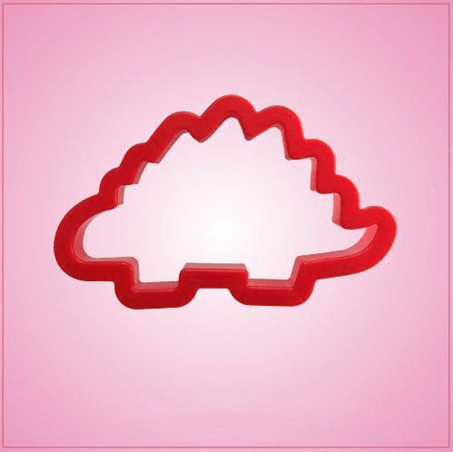Red Stegosaurus Cookie Cutter
