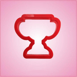 Red Trophy Cookie Cutter