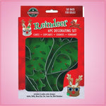 Reindeer Decorating Cookie Cutter Set
