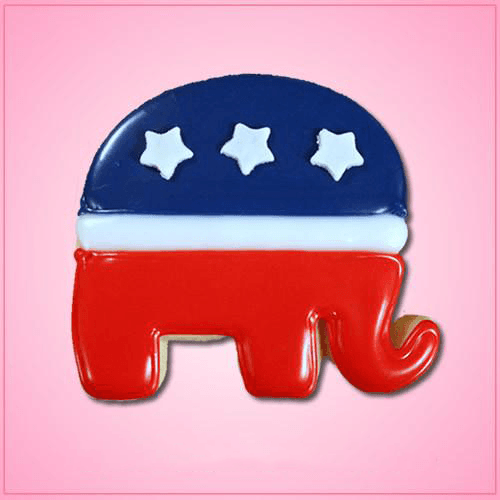 Republican Elephant Cookie Cutter