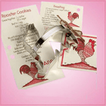 Rooster Cookie Cutter With Handle