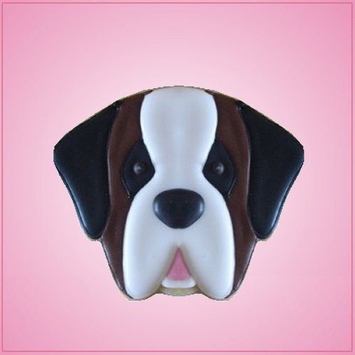 Brown Saint Bernard Cookie Cutter