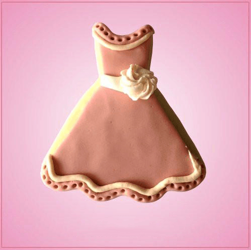 Scalloped Dress Cookie Cutter