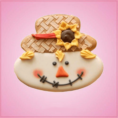 Scarecrow Face Cookie Cutter