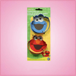 Sesame Street Cookie Cutter Set 2