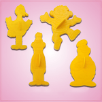 Sesame Street Cookie Cutter Set (Vintage)