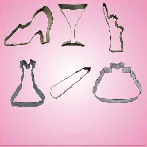 Sex And the City Cookie Cutter Set