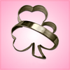 Shamrock Cookie Cutter with Handle