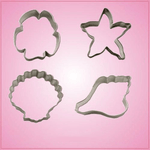 Shell Cookie Cutter Set