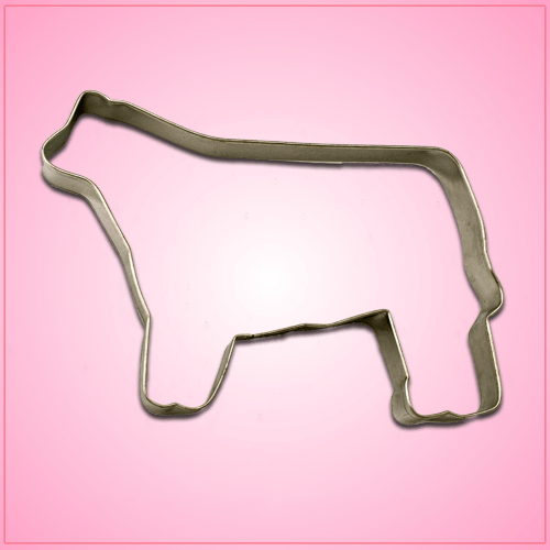 Show Steer Cookie Cutter