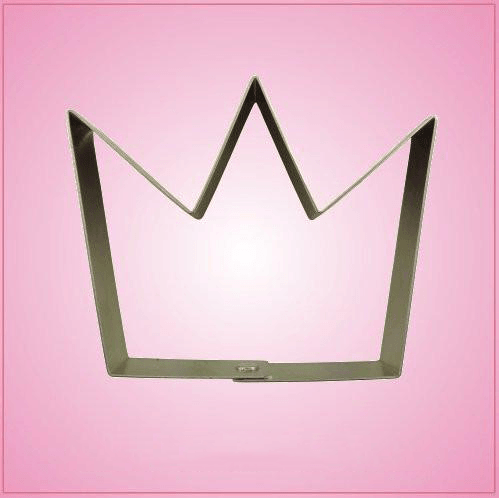 Simple Crown Cookie Cutter