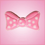 Simple Hair Bow Cookie Cutter