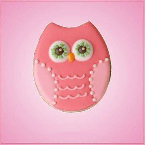 Simple Owl Cookie Cutter