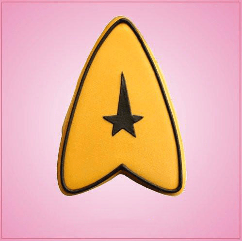 Simple Star Trek Cookie Cutter