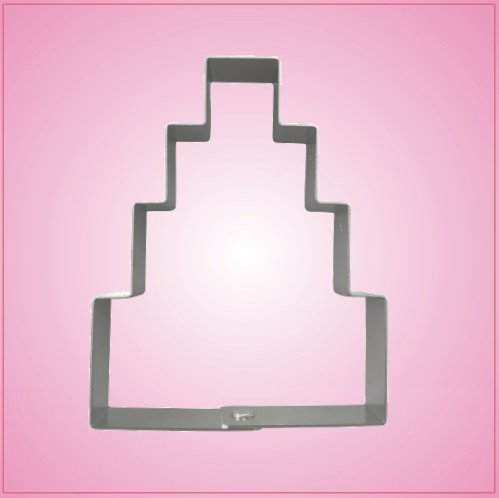 Simple Wedding Cake Cookie Cutter