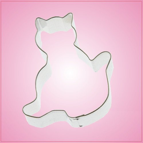 Sitting Cat Cookie Cutter 2