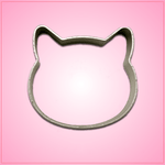Small Cat Head Cookie Cutter