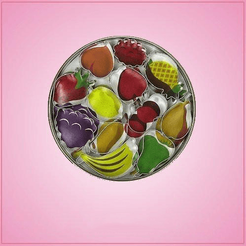 Small Fruit Cookie Cutter Set