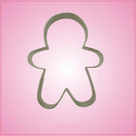 Small Gingerbread Man 2 Cookie Cutter