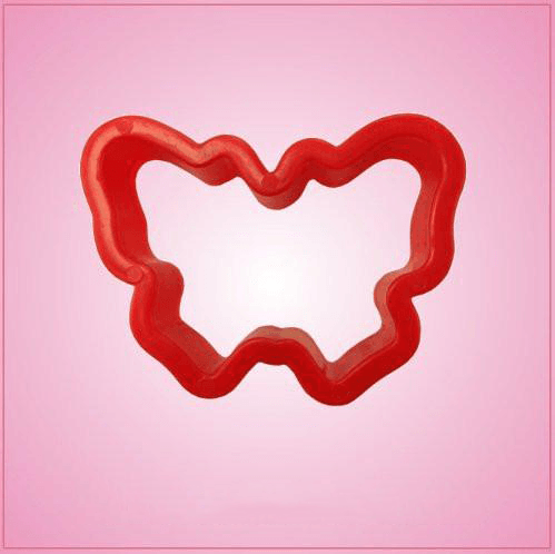 Small Red Butterfly Cookie Cutter