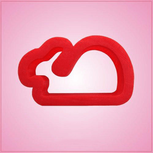 Small Red Whale Cookie Cutter