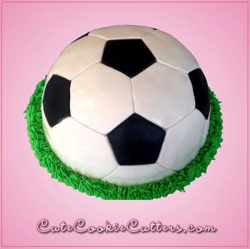 Soccer Ball Cake Cookie Cutter Set Cheap Cookie Cutters