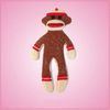 Sock Monkey Cookie Cutter