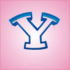 Sports Letter Y Cookie Cutter