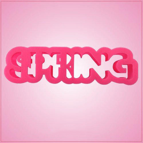 Spring Word Cookie Cutter