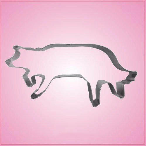 Stainless Steel Border Collie Cookie Cutter
