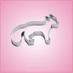 Stainless Steel Fox Cookie Cutter