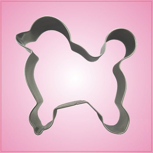 Stainless Steel Poodle Cookie Cutter