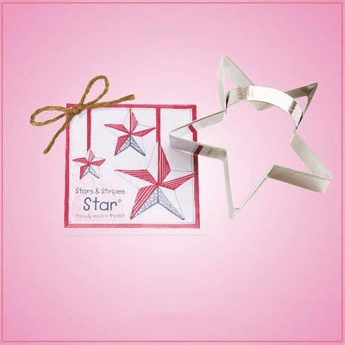 Star Cookie Cutter With Handle