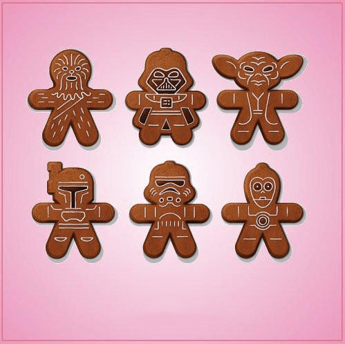 Star Wars Gingerbread Cookie Cutter Set