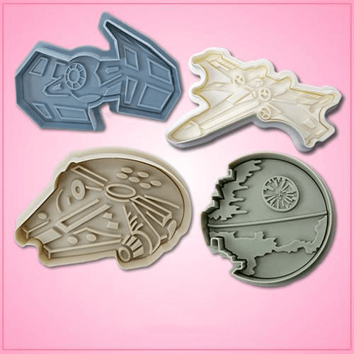 Star Wars Vehicles Cookie Cutters