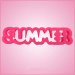 Summer Word Cookie Cutter