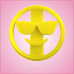Sunglasses Emoji Cookie Cutter